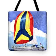 Sailing Primary Colores Spinnaker Tote Bag