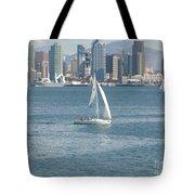 Sailing San Diego Tote Bag