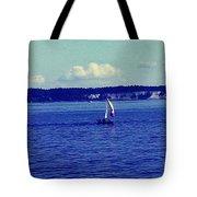 Sailing Seattle  Tote Bag