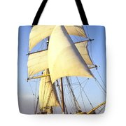 Sailing Ship Carribean Tote Bag by Douglas Barnett
