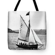 Sailing Ship Cutter Tote Bag
