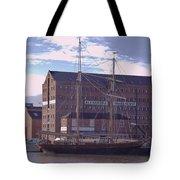 Sailing Ship Tote Bag