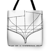 Sailing Ships: Pilot Boat Tote Bag