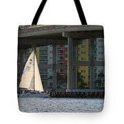 Sailing The Intracoastal Tote Bag