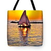 Sailing The Seven Seas Tote Bag