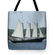Sailing Through History Tote Bag