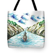 Sailing Through Tote Bag