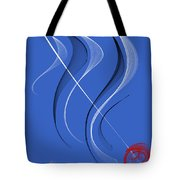 Sailing To The Rhythm Of Music Tote Bag
