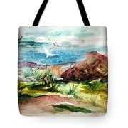 Sailing Towards Anywhere Tote Bag