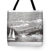 Sailing Mount Hood Oregon Tote Bag