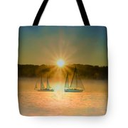 Sailing When The Sun Comes Up Tote Bag