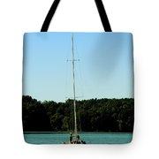 Sails Down  Tote Bag