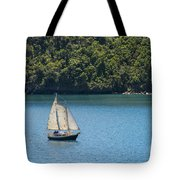 Sails In The Wind Tote Bag