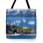 Sails Out To Play Tote Bag