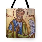 Saint Apostle Peter Tote Bag