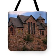 Saint Catherine Of Siena Chapel Tote Bag