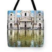 Saint Charles's Church  Tote Bag