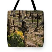 Saint Dominic Cemetery At Old D'hanis Texas Tote Bag