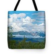 Saint Elias Mountains In Kluane National Park-yk  Tote Bag