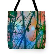 Saint Elmo's Fire Tote Bag