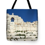 Saint George Ruins Tote Bag