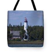 Saint Helena Lighthouse 2 Tote Bag