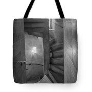 Saint John The Divine Spiral Stairs Bw Tote Bag