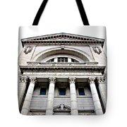 Saint Joseph Du Mont Royal Facade Tote Bag by Valentino Visentini