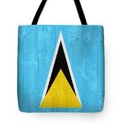 Saint Lucia Flag Tote Bag