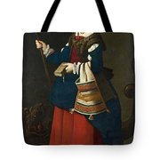 Saint Margaret Of Antioch Tote Bag