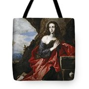 Saint Mary Magdalene In The Desert Tote Bag