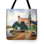 Saint Mary's Church Battersea London Tote Bag