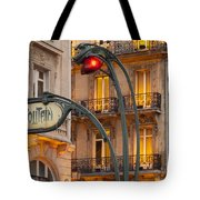 Saint Michel Tote Bag