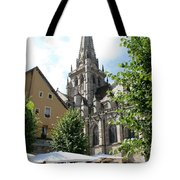 Saint Nazaire Cathedral Autun Tote Bag