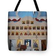 Saint Nicholas Erikousa 1822 Tote Bag