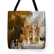 Saint Patrick's Cathedral Church Tote Bag
