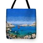 Saint Paul Bay Tote Bag