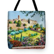 Saint Paul De Vence Tote Bag