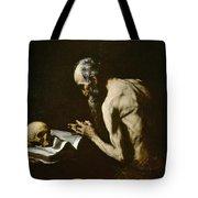 Saint Paul The Hermit Tote Bag