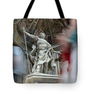 Saint Peters Traffic Tote Bag
