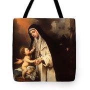 Saint Rose Of Lima Tote Bag