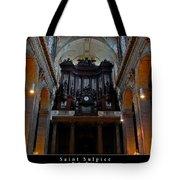 Saint Sulpice Tote Bag