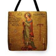 Saint Susanna Altar Tote Bag