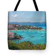Saint Ursula And Her Virgin Followers Tote Bag