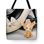 Saint Valentine Angel With Two Shoes Tote Bag