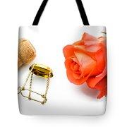 Saint Valentine Rose Tote Bag
