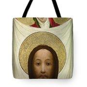 Saint Veronica With The Sudarium Tote Bag