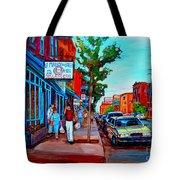 Saint Viateur Bagel Shop Tote Bag
