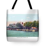 Sainte Claire Flats - Michigan - The Old Club - 1920 Tote Bag