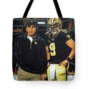 Saints Dynamic Duo Tote Bag